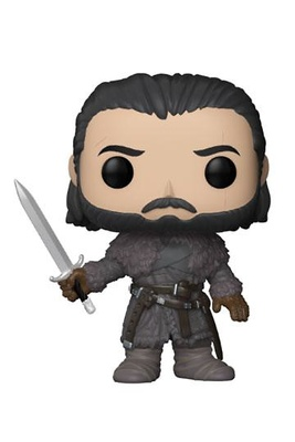 Juego de tronos POP! TV Vinyl Figura Jon Snow (Beyond the Wall) 9 cm