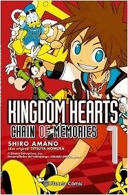 Kingdom Hearts Chain of memories nº 1