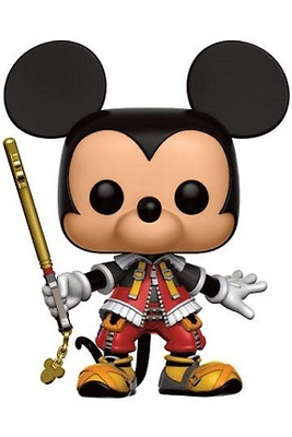 Kingdom Hearts POP! Disney Vinyl Figura Mickey 9 cm