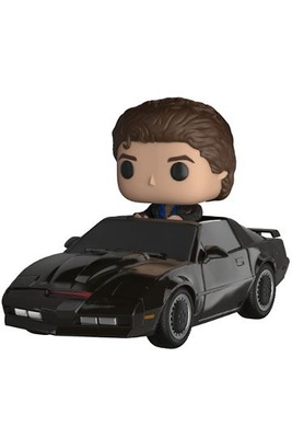 Knight Rider POP! Rides Vinyl Figura KITT & Michael Knight 15 cm