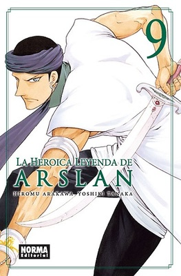LA HEROICA LEYENDA DE ARSLAN 9