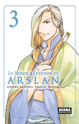 LA HEROICA LEYENDA DE ARSLAN Nº 3