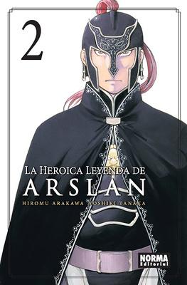 LA HEROICA LEYENDA DE ARSLAN nº 2