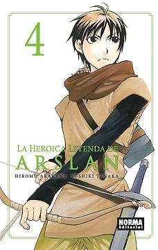 LA HEROICA LEYENDA DE ARSLAN nº 4