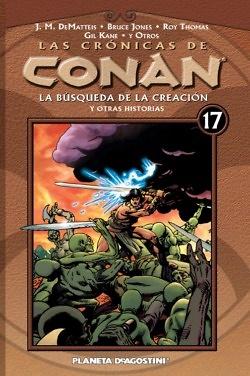 LAS CRONICAS DE CONAN 17
