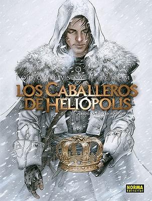 LOS CABALLEROS DE HELIÓPOLIS 2. ALBEDO, LA OBRA EN BLANCO
