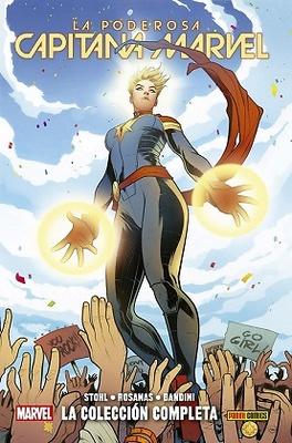 La Poderosa Capitana Marvel La colección completa