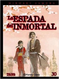 La espada del inmortal 30