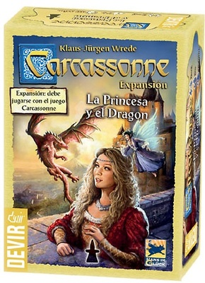 La princesa y el Dragon Carcassonne Expansion EDICION 2017