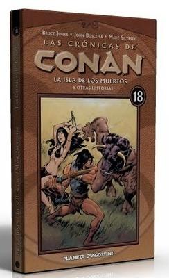 Las Cronicas de Conan nº 18 La isla de los muertos