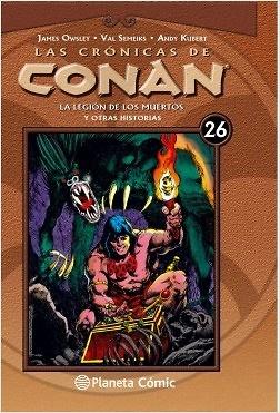 Las crónicas de Conan nº 26 / 34