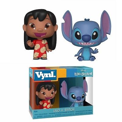 Lilo & Stitch Pack de 2 VYNL Vinyl Figuras Lilo & Stitch 10 cm