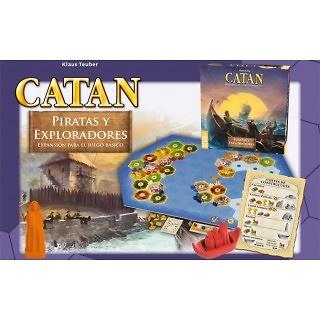 Los Colonos de Catán Piratas y Exploradores
