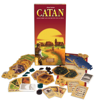 Los Colonos de Catan Expansion 5-6 jugadores