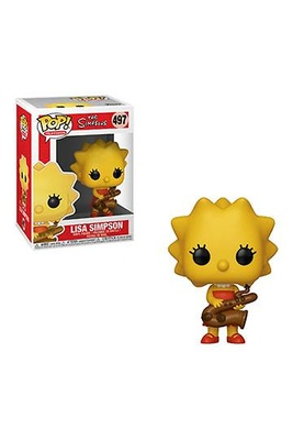 Los Simpson Figura POP! TV Vinyl Lisa 9 cm