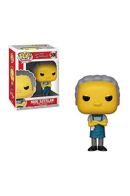 Los Simpson Figura POP! TV Vinyl Moe 9 cm