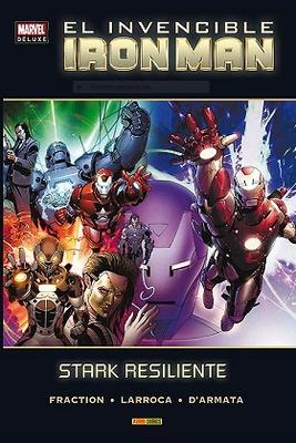 Marvel Deluxe El Invencible Iron Man nº 4 Stark Resiliente