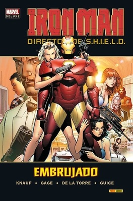Marvel Deluxe Iron Man Director de SHIELD nº 2 Embrujado