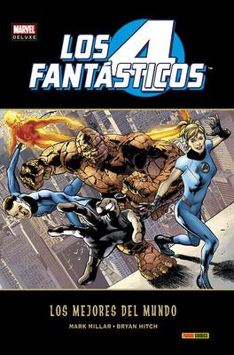 Marvel Deluxe Los 4 Fantasticos Los mejores del mundo