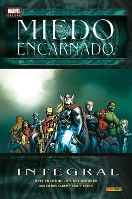 Marvel Deluxe Miedo Encarnado  Integral