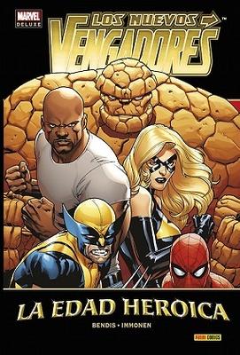 Marvel Deluxe. Los Nuevos Vengadores nº 14  La Edad Heroica