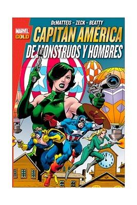 Marvel Gold Capitan America De monstruos y hombres