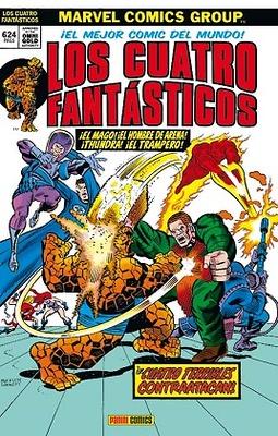 Marvel Gold Los 4 Fantásticos Los 4 Terribles Contraatacan