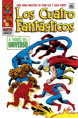 Marvel Gold Los 4 Fantasticos A traves del universo