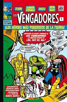 Marvel Gold Los Vengadores nº 1  La Llegada de los Vengadores