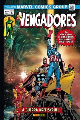 Marvel Gold Los Vengadores nº 5  La Guerra Kree-Skrull