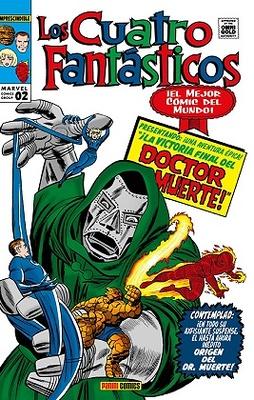 Marvel Gold. Los Cuatro Fantásticos 2  ¡La victoria final del Doctor Muerte!