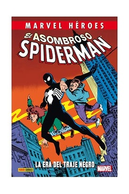Marvel Héroes 57  El Asombroso Spiderman La era del traje negro
