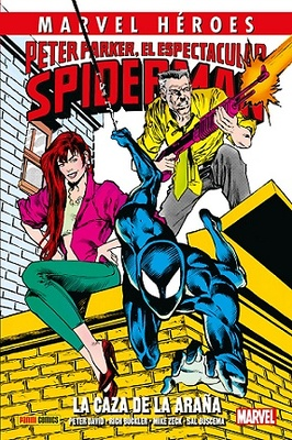 Marvel Héroes 80  Peter Parker, El Espectacular Spiderman La Caza de la Araña