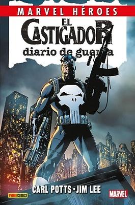Marvel Héroes 81  El Castigador: Diario de guerra 1