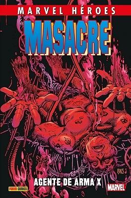 Marvel Héroes 84  Masacre 4: Agente de Arma X