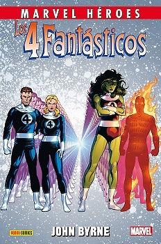 Marvel Héroes nº 61  Los 4 Fantásticos de John Byrne nº 3