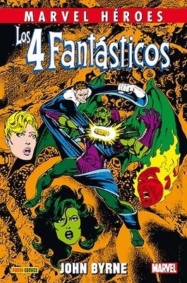 Marvel Héroes nº 62  Los 4 Fantásticos de John Byrne nº 4