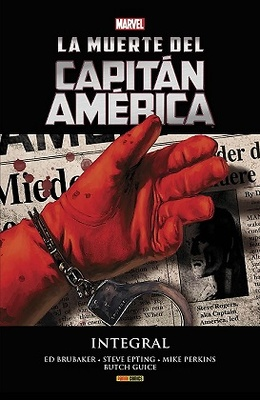 Marvel Integral La Muerte del Capitán América