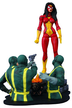Marvel Select Figura Spider-Woman 18 cm