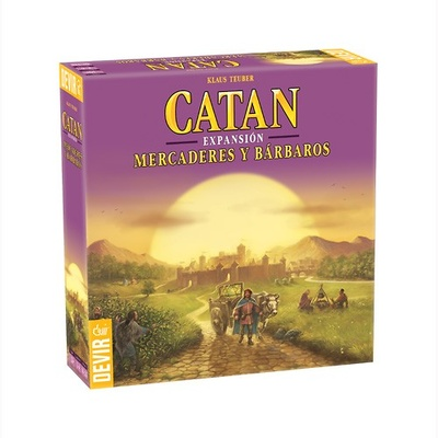 Mercaderes y Barbaros Los Colonos de Catan