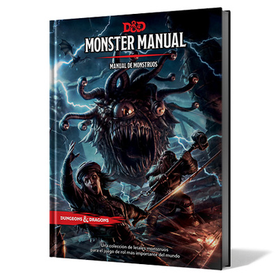 Monster Manual - Manual de Monstruos   Dungeons & Dragons 5ª Edición