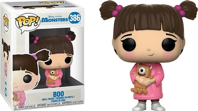 Monstruos S.A. POP! Disney Vinyl Figura Boo 9 cm