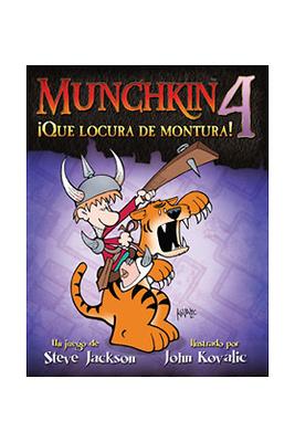 Munchkin 4 ¡Que locura de montura!