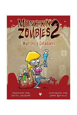 Munchkin Zombies 2 Muertos y enfadados