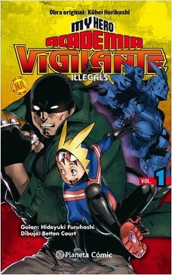 My Hero Academia Vigilante Illegals nº 01