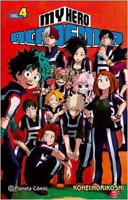 My Hero Academia nº 4