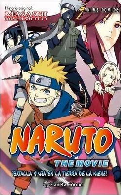 Naruto Anime Comics nº 2 ¡Batalla ninja en la tierra de la nieve!