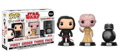 Pack 3 Figuras POP! Star Wars VIII The Last Jedi Bad Guys Exclusivo (First Order Three Pack)