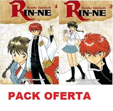Pack oferta Rin-ne nº 1 y 2