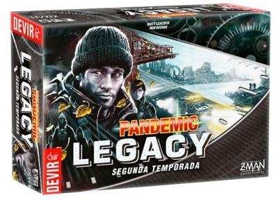 Pandemic Legacy Segunda Temporada (Negro)